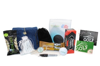 A picture of the Go Play Golf Deluxe Gift Box - $40.00