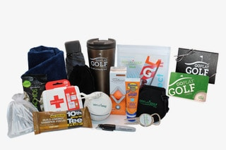 A picture of the Go Play Golf Pro Gift Box - $80.00