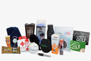 A picture of the Go Play Golf Champion Gift Box - $100.00